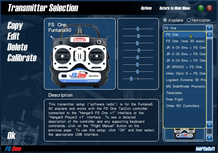 FS One RC Flight Simulator -