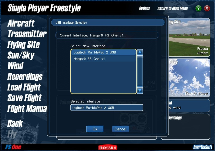 Image of Single Player Freestyle window