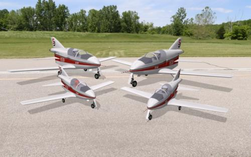 BD-5J 50% and 100% variants