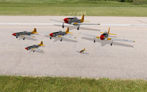 P-51 and variants